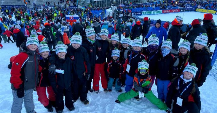 Quechee Ski Team at the World Cup